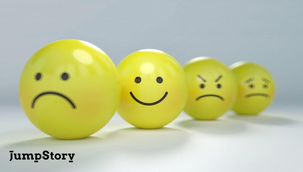 glad og sur